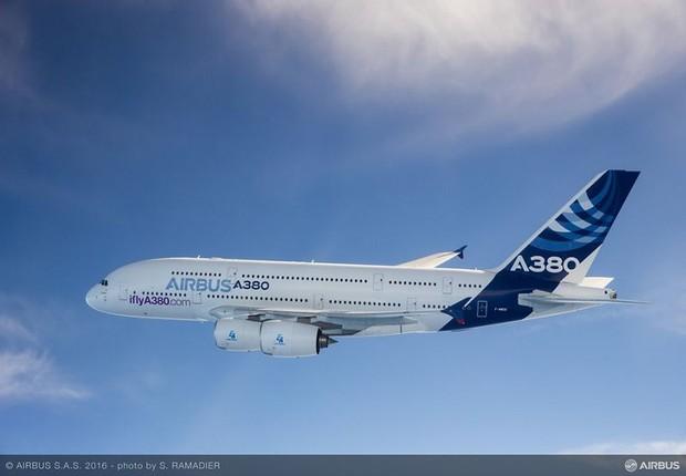 Últimos exemplares do maior avião do mundo serão entregues em 2021, segundo a Airbus (Foto: Divulgação)