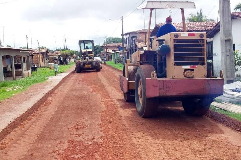 Programa 'Asfalto por todo o Pará' vai contemplar três municípios na região oeste