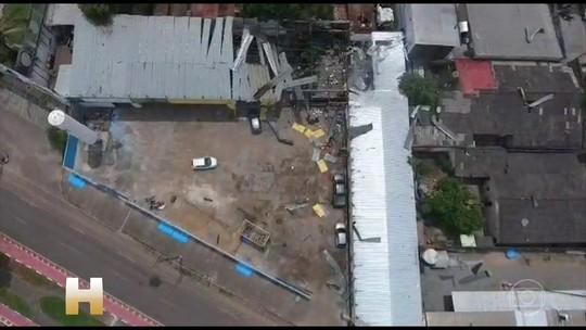 Explosões deixam 4 mortos em fábrica de gás em Boa Vista