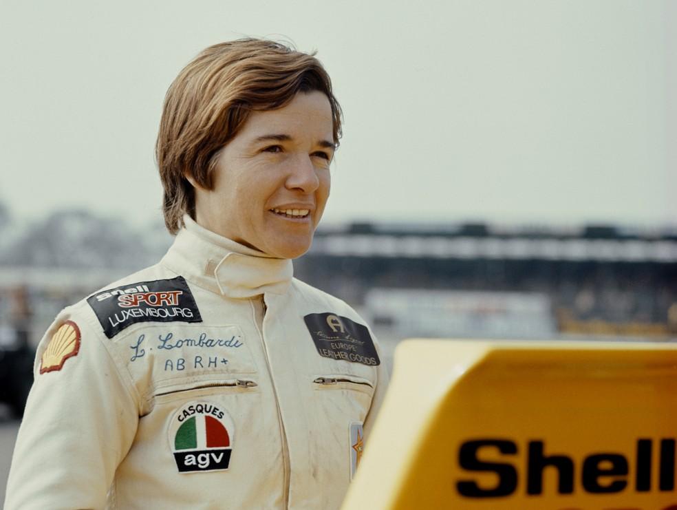 Lella Lombardi foi a mulher mais bem sucedida na Fórmula 1 — Foto: Getty Images
