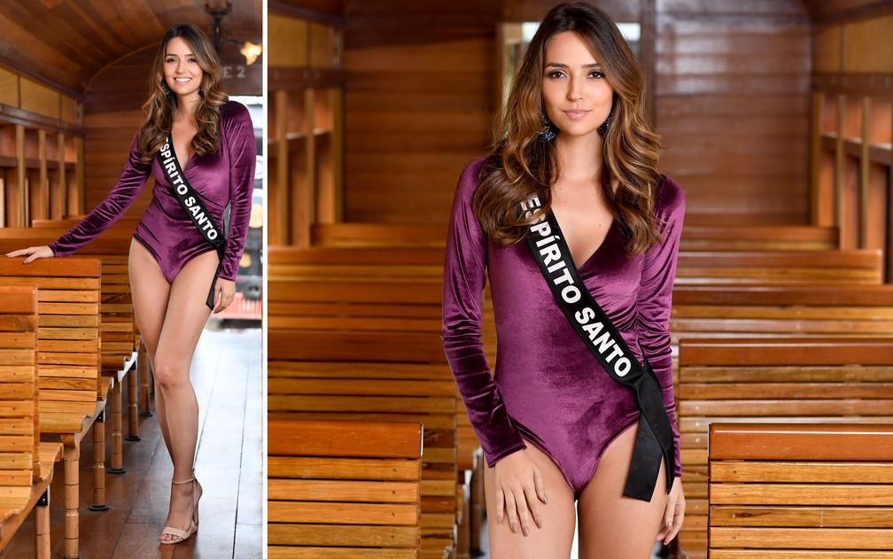 Thainá Castro, 24 anos, arquiteta, é a Miss Espírito Santo — Foto: Rodrigo Trevisan/Divulgação/Miss Brasil
