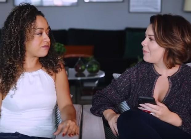 Aretha Oliveira e Fernanda Souza (Foto: Reprodução)