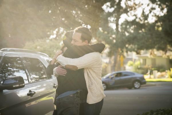 Tyler Henry com Jim Parsons (Foto: Divulgação)