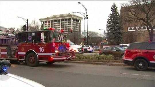 Tiroteio em hospital de Chicago deixa 4 feridos graves; atirador morre