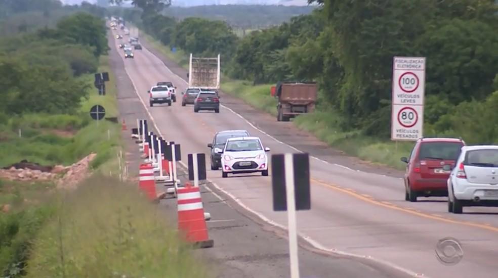 Acidentes em rodovias federais aumentam 19% nos últimos três meses — Foto: Reprodução / RBS TV