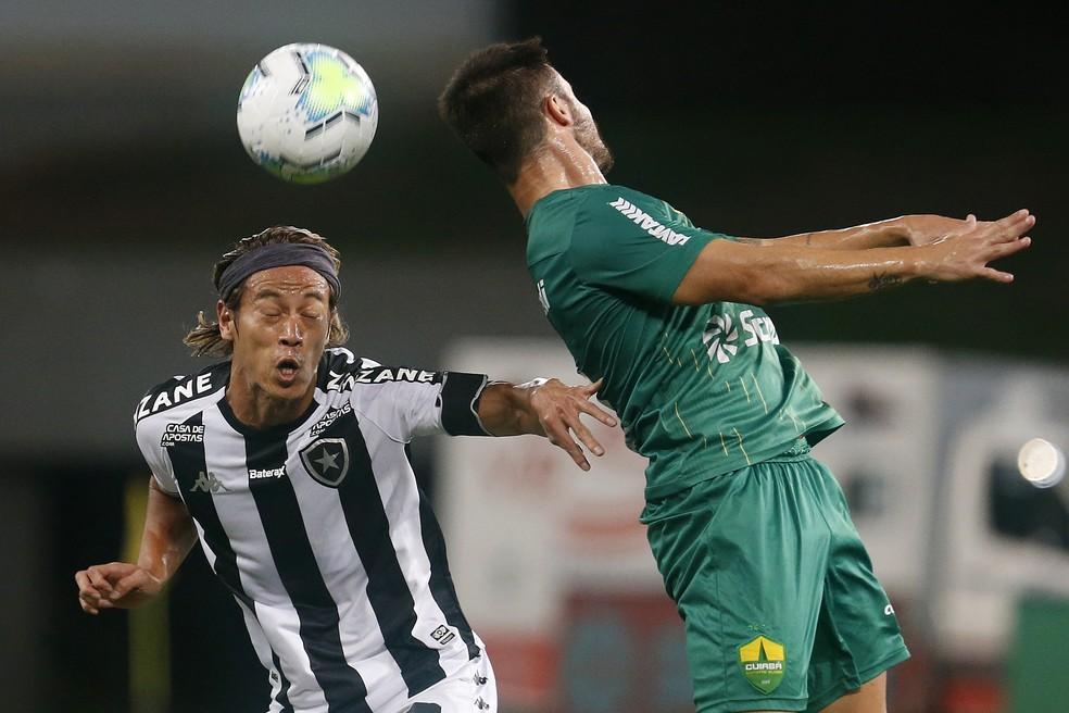 Empate com Cuiabá rende prejuízo milionário — Foto: Vitor Silva/Botafogo