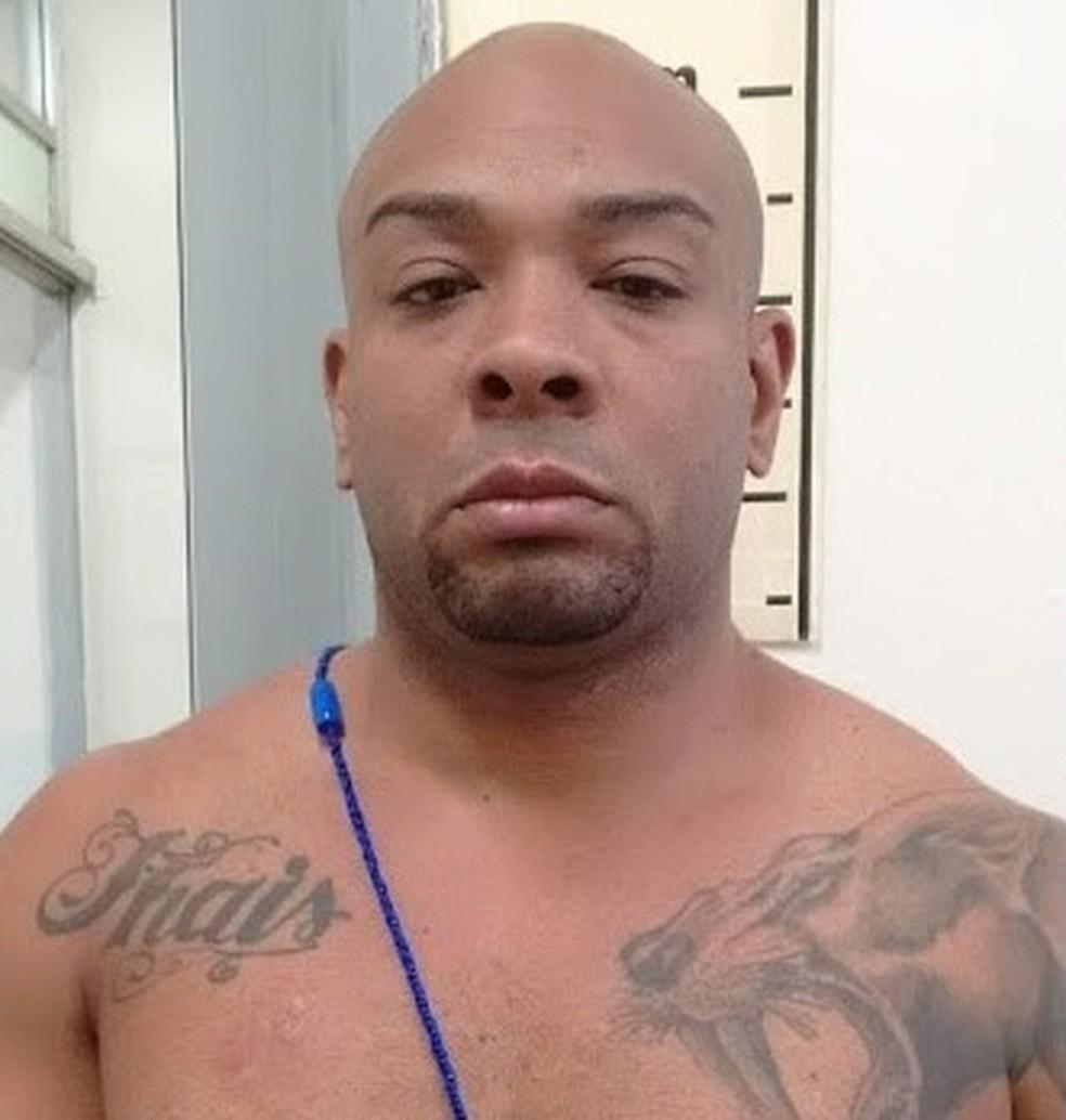 Sammy teve prisão decretada junto com os demais envolvidos no caso (Foto: Divulgação/Polícia Civil)