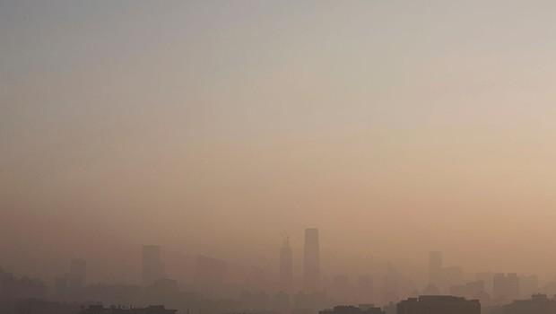 Paisagem em Pequim, na China. Estimativas indicam que a poluição do ar seja responsável por 7 milhões de mortes prematuras anualmente (Foto: Kevin Frayer/Getty Images)