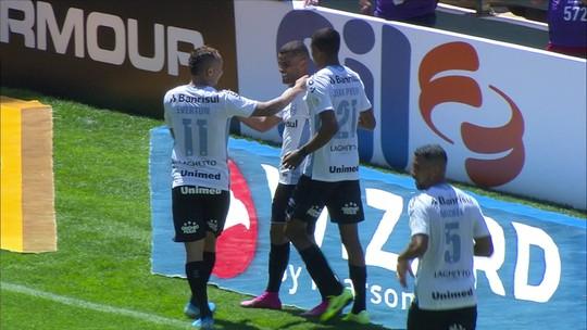 De um para outro: Alisson e Everton afinam dobradinha no Grêmio com gols e assistências