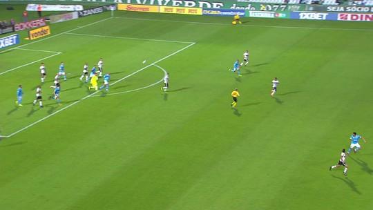 De Wilson para Parede: goleiro lança, e atacante marca oitavo gol no Coritiba