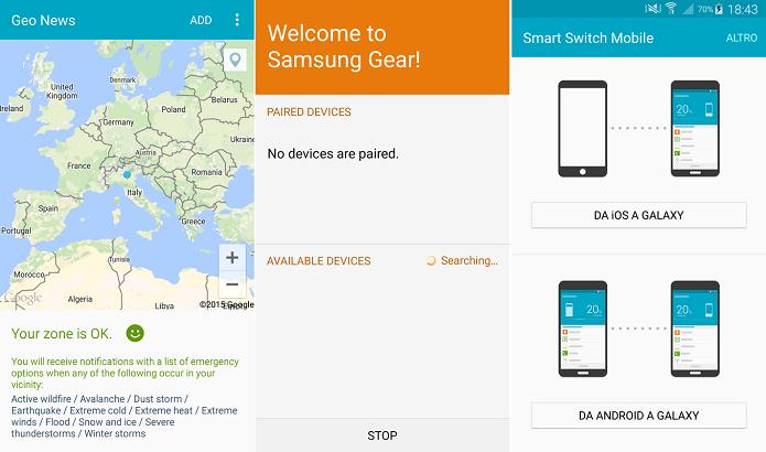 Apps que vazaram mostram visual mais clean no S6 (Foto: Reprodução/XDA Developers)
