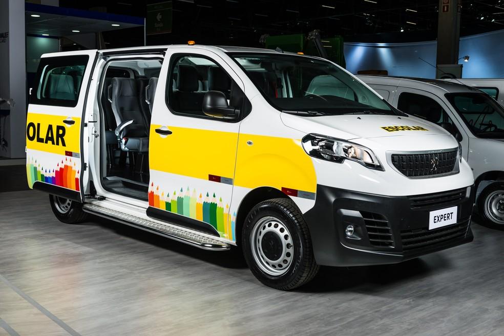 Peugeot Expert passageiros (Foto: Divulgação)