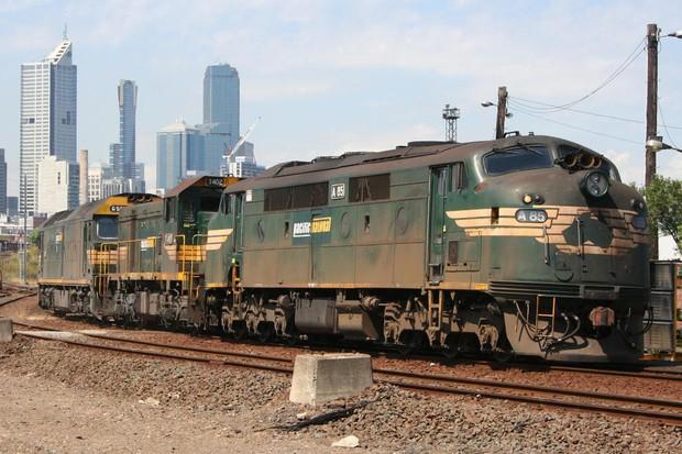 Trem Carga (Foto: Marcus Wong Wongm / Wikimedia Commons)