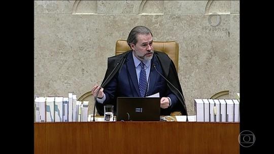 STF terá atuação 'mais discreta possível' até a eleição, diz Toffoli