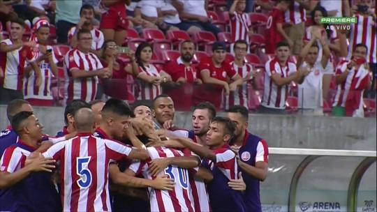 """Em reestreia no futebol brasileiro, Ortigoza decide pelo Náutico: """"Confiança"""""""