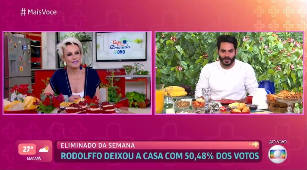 Rodolffo destacou que 'BBB' foi faculdade para ele: 'Muitos aprendizados' — Foto: TV Globo