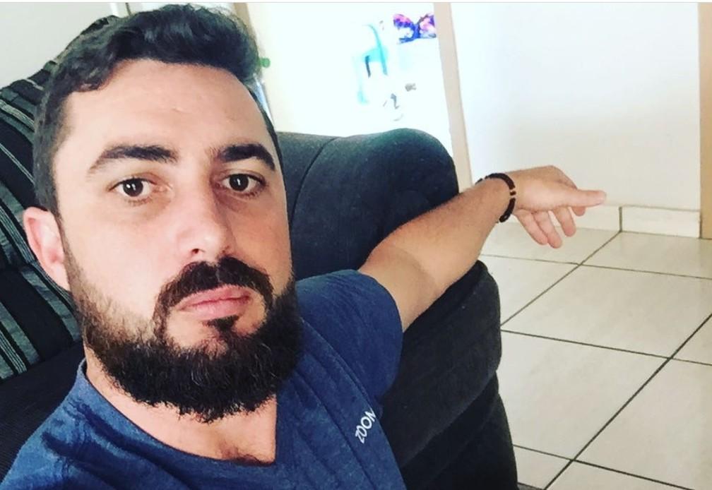 Jackson Furlan, de 29 anos, foi preso suspeito de matar Júlia Barbosa — Foto: Reprodução