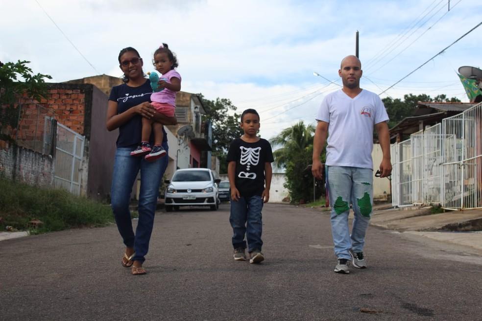 Karen Padilha vai passar o Natal longe da terra natal — Foto: Pedro Bentes/G1