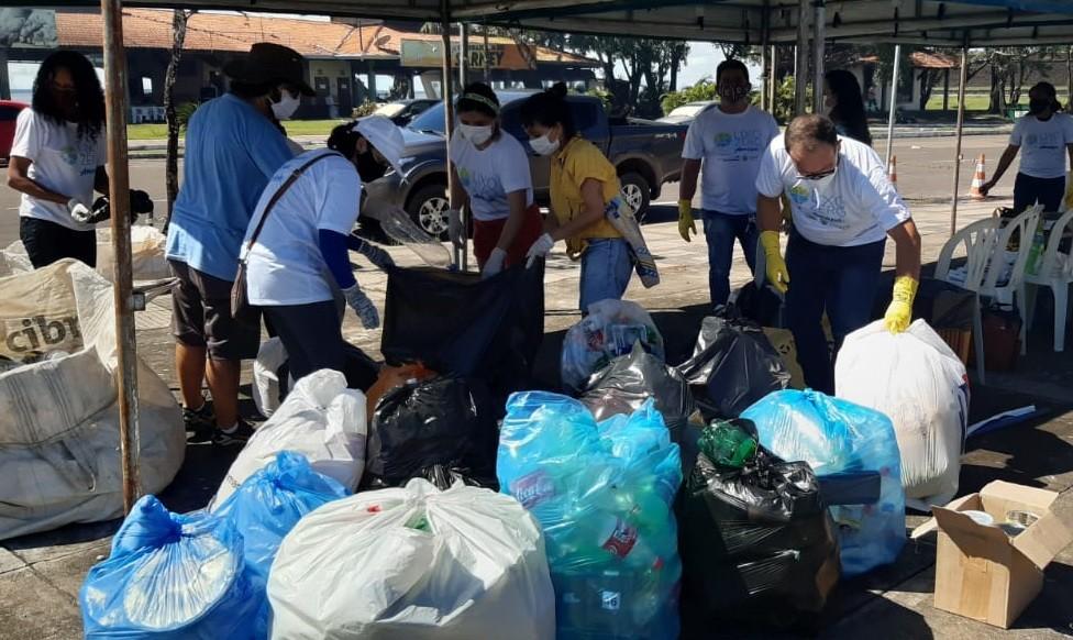 'Lixo Zero': campanha tem coleta de materiais recicláveis, palestras e oficinas no Amapá