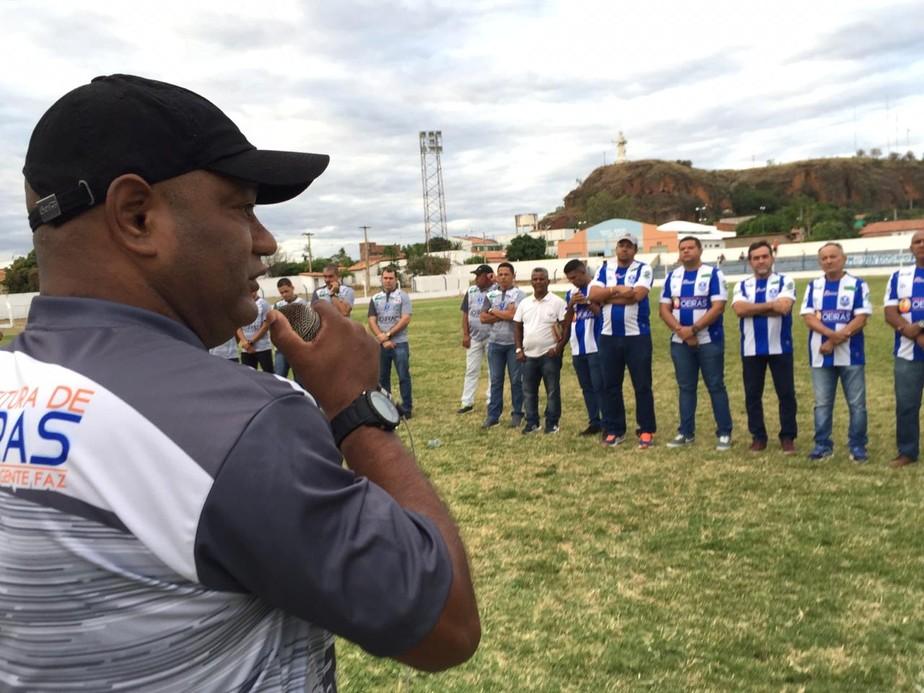 Série B: sem Mossoró, Reinaldo e ainda em busca de um camisa 9, Oeirense apresenta elenco