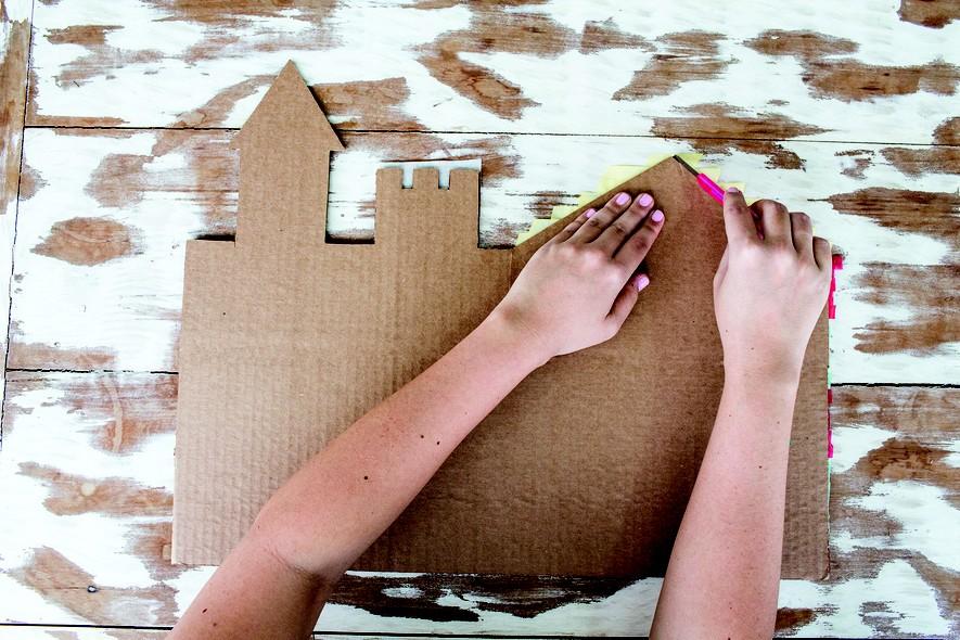 Aprenda A Fazer Um Castelo De Papelão Crescer Façam Vocês Mesmos