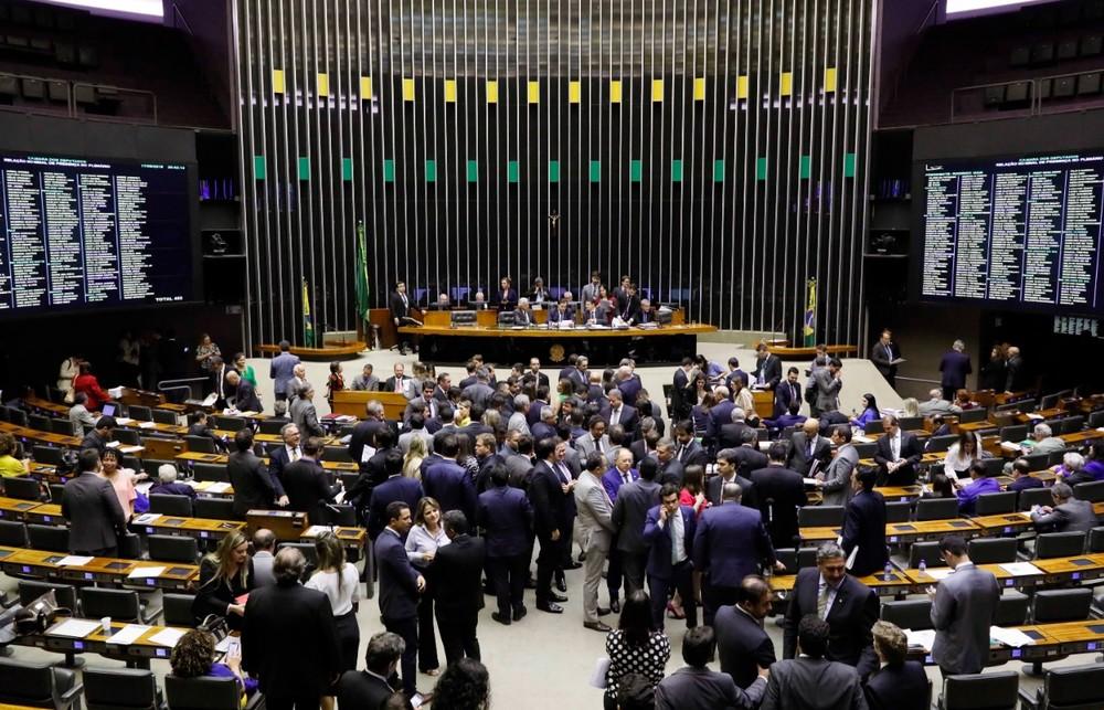 Deputados reunidos no plenário da Câmara durante a sessão desta terça-feira (17) ? Foto: Luis Macedo/Câmara dos Deputados