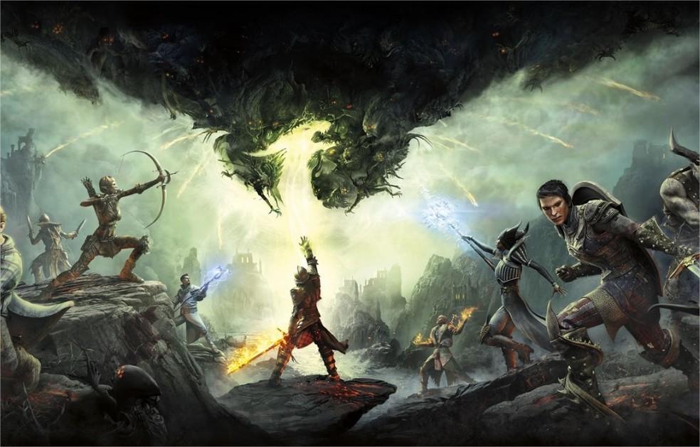 Dragon Age Inquisition foi último game da saga — Foto: Divulgação/BioWare