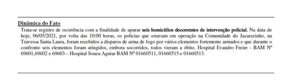 Na Travessa Santa Laura, policiais relataram seis mortes — Foto: Reprodução