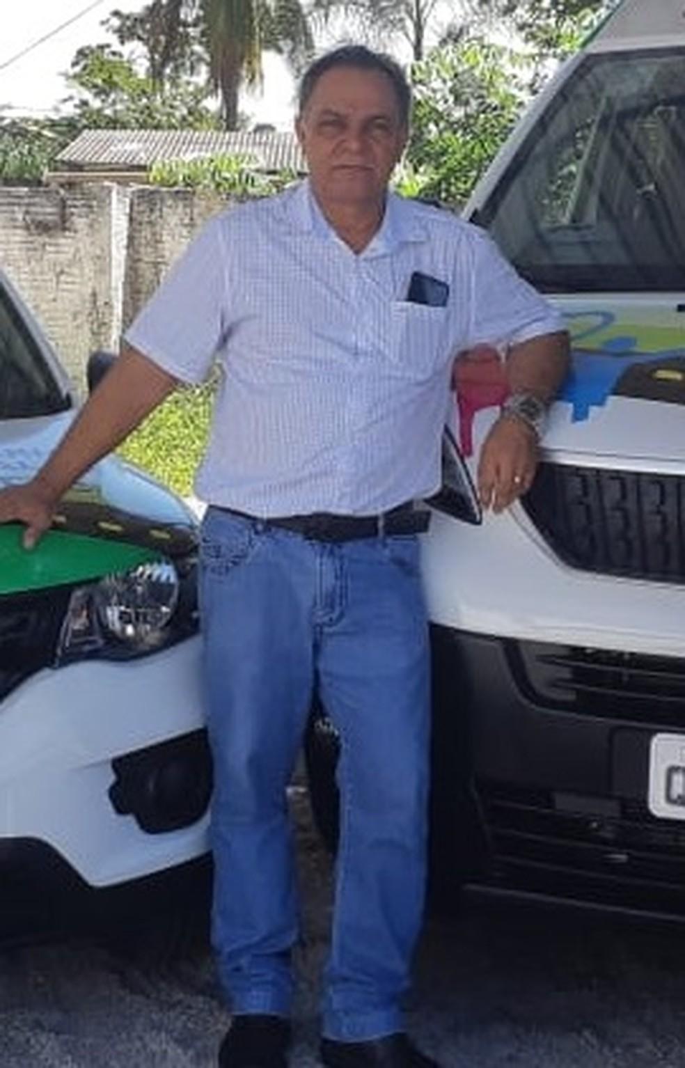 Prefeito de Nova Marilândia, a 261 km de Cuiabá, Juvenal Alexandre da Silva, de 73 anos, e outros três homens foram presos nessa quinta-feira (5) ao serem flagrados por caça predatória e porte ilegal de arma na zona rural do município — Foto: Prefeitura de Nova Marilândia/Divulgação