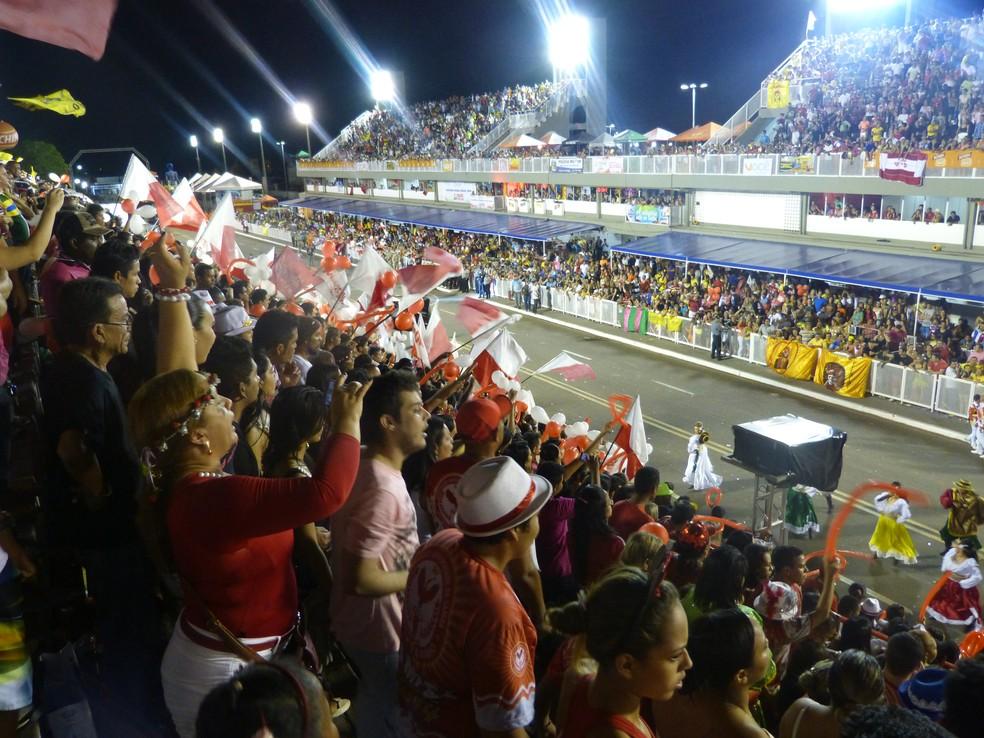 Desfiles das escolas de samba do Amapá em 2018 acontecerão nos dias 10 e 11 de fevereiro (Foto: John Pacheco/G1)