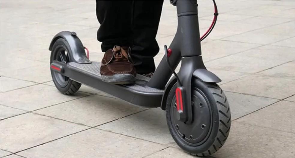 Xiaomi investe em novas tendências, como patinetes elétricos — Foto: Reprodução/ Gearbest