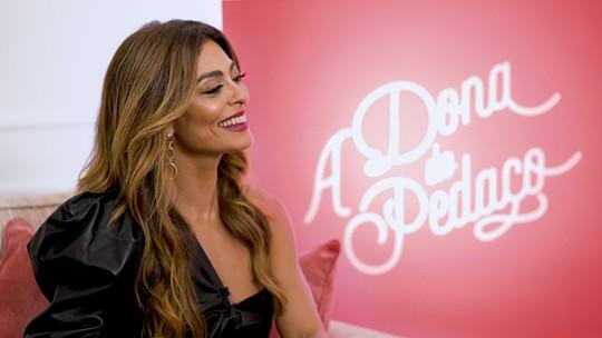 """Juliana Paes fala sobre """"A Dona do Pedaço"""", maternidade e desafios da nova personagem"""