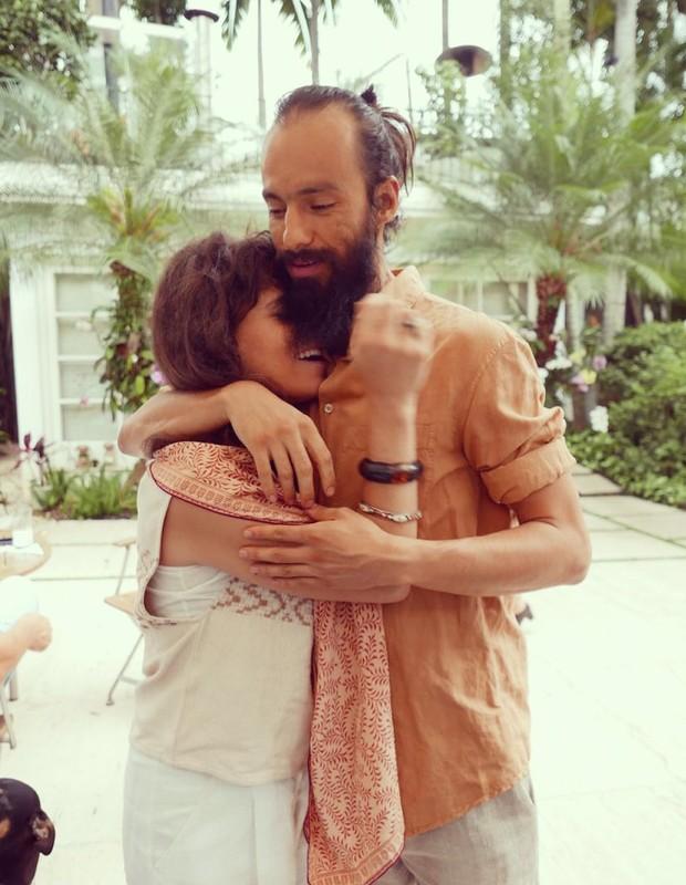 Mariana Maffeis e seu marido, Badarik González (Foto: Playback / Instagram)