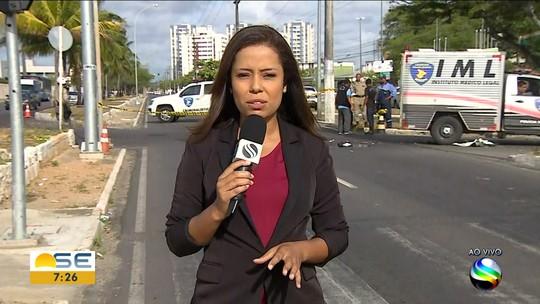 Uma pessoa morreu e outra ficou ferida em uma batida na Zona Sul de Aracaju