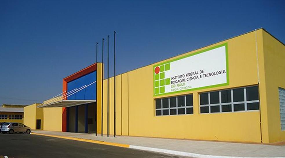 ... Instituto Federal abre inscrições para cursos superiores gratuitos em  Catanduva — Foto  Divulgação 3a211d0015