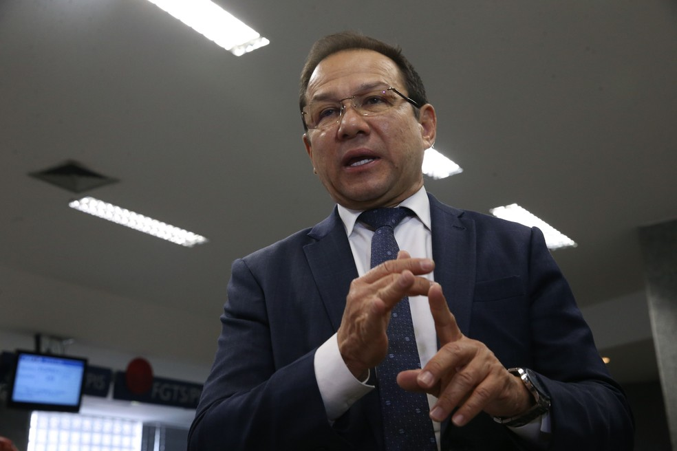 Nelson Antônio de Souza, que assume a presidência da Caixa com a ida de Gilberto Occhi para o Ministério da Saúde (Foto: José Cruz/Agência Brasil)