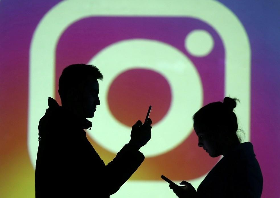 Instagram faz novo teste sobre 'likes'. — Foto: Reuters