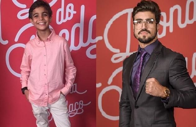 Caio Castro dará vida a Rock, antes interpretado por Allexandre Colman (Foto: TV Globo)