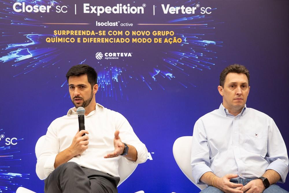 """""""Desde a metade de 2018, já investimos USD 90 milhões em projetos de expansão das nossas unidades de pesquisa e produção"""", disse Felipe Daltro (Foto: André Montejano)"""