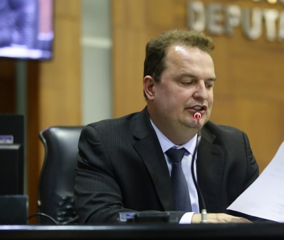 Deputado Max Russi (PSB) é um dos interessados na vaga de presidente da Mesa Diretora da ALMT — Foto: ALMT