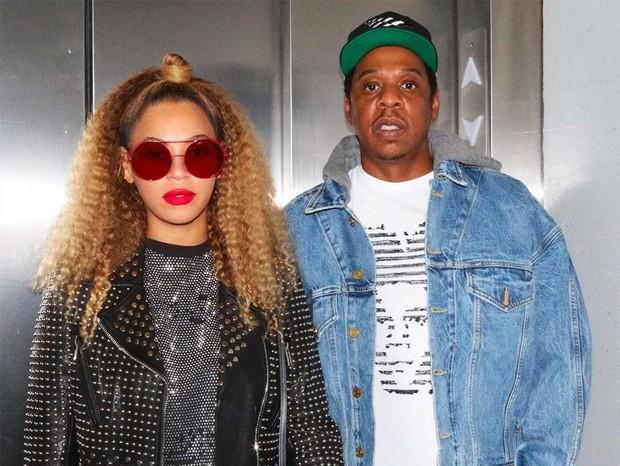 Beyoncé e Jay-Z (Foto: Reprodução/Beyoncé)