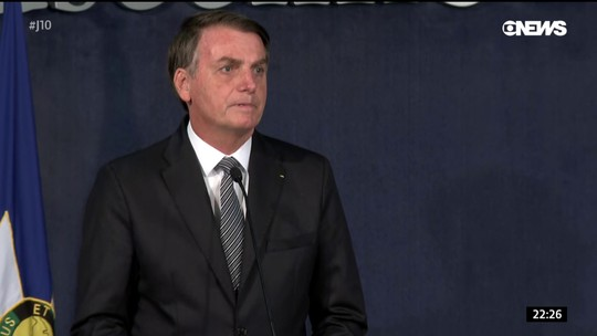 Bolsonaro faz apelo em cerimônia no Ministério Público