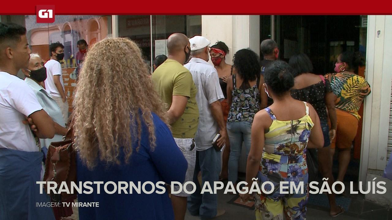 G1 em 1 Minuto: Apagão causa transtornos na população da Grande São Luís