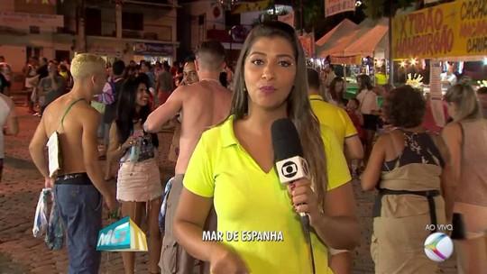 Blocos de rua, shows e outras atrações agitam os foliões em Mar de Espanha, MG