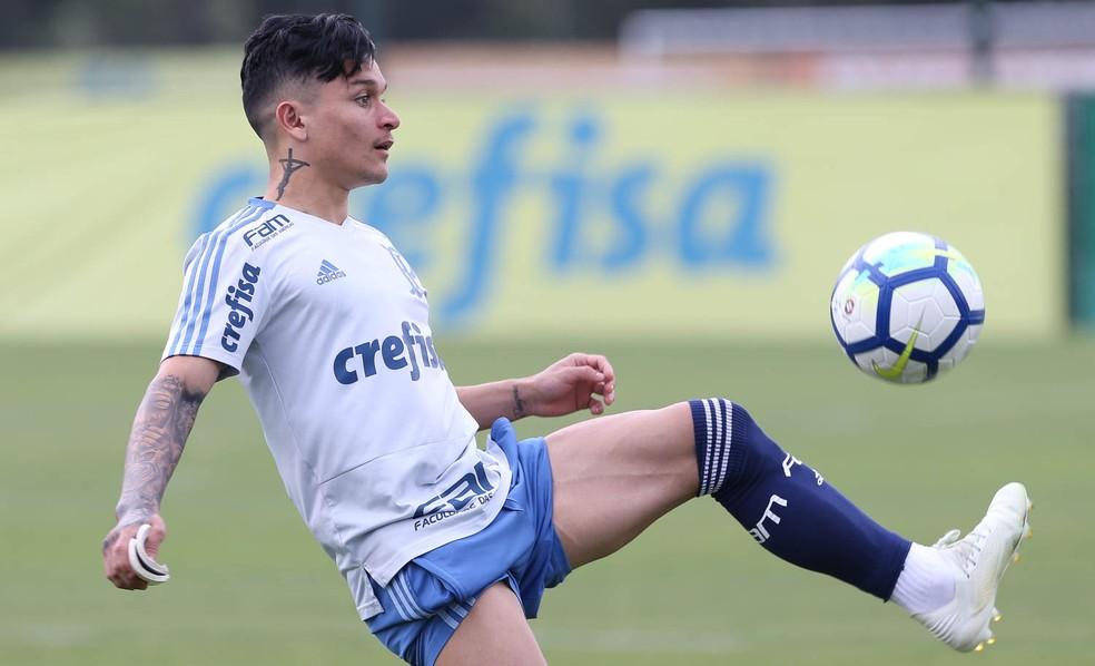 Artur tem contrato com o Palmeiras até o fim de 2021 — Foto: Cesar Greco / Ag. Palmeiras