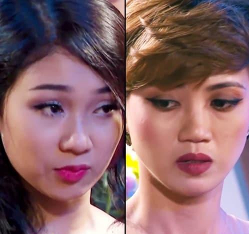 Minh Thu e Truc Nhu disputavam a vertão vietnamita de The Bachelor (Foto: reprodução)
