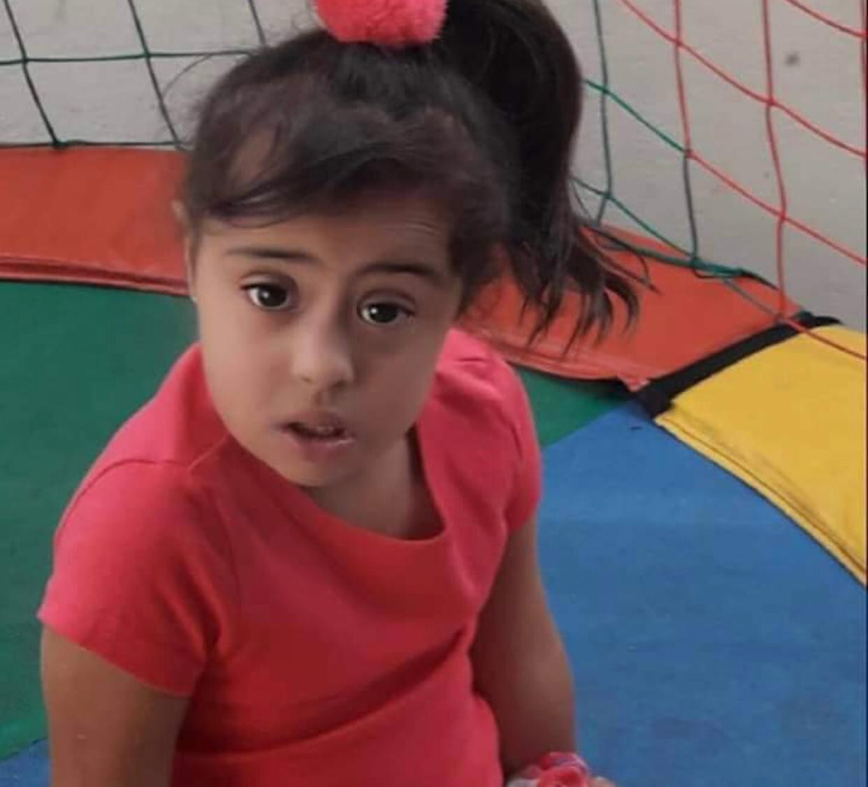 Menina com síndrome de Down excluída da escola (Foto: Arquivo Pessoal)