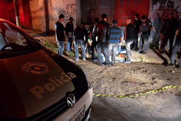 Vítima da série de ataques em Osasco e Barueri (Foto: Edu Silva/Estadão Conteúdo)
