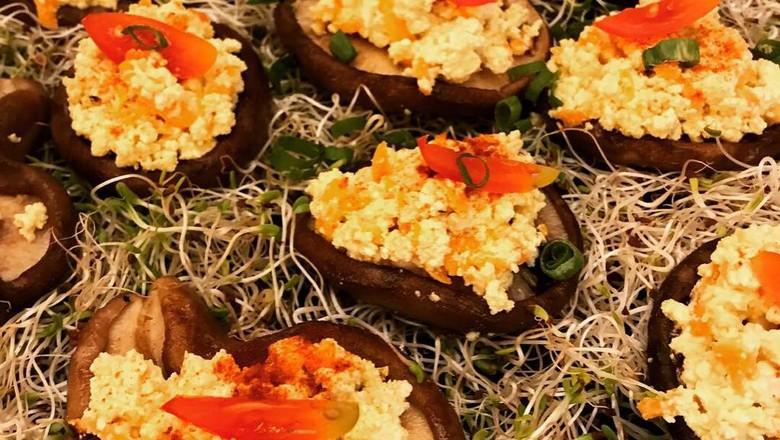 Receita barquinhos de shiitake (Foto: Thaís Rahal)