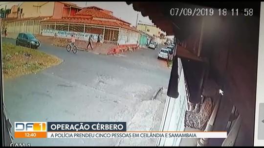 Quadrilha suspeita de praticar roubos, homicídios e latrocínios é presa no DF